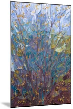 Witch Hazel in Flower, 2015-Leigh Glover-Mounted Giclee Print