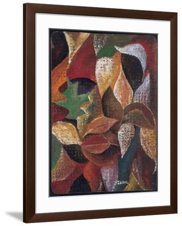Autumn Leaves-Ikahl Beckford-Framed Giclee Print