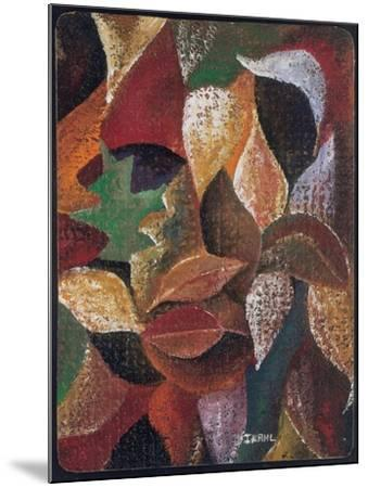 Autumn Leaves-Ikahl Beckford-Mounted Giclee Print