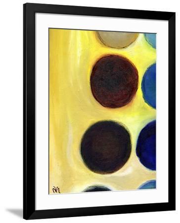 The Happy Dots 4, 2014-Nancy Moniz Charalambous-Framed Giclee Print