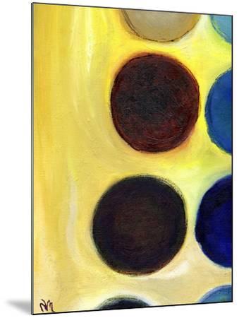 The Happy Dots 4, 2014-Nancy Moniz Charalambous-Mounted Giclee Print