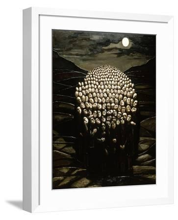 Waiting for the Day, 1979-Evelyn Williams-Framed Giclee Print