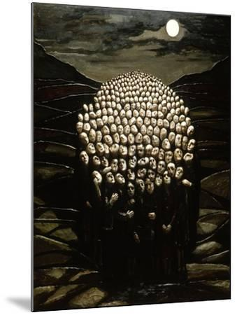 Waiting for the Day, 1979-Evelyn Williams-Mounted Giclee Print