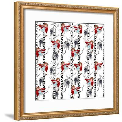 Little Red Riding hood, 2015-Beth Travers-Framed Giclee Print