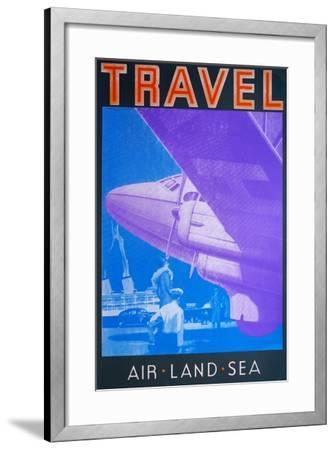 Travel: Air, Land Sea-David Studwell-Framed Giclee Print