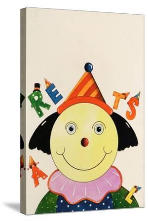 Party Clown-Christian Kaempf-Stretched Canvas Print