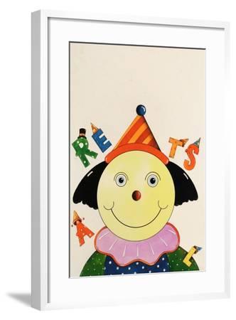 Party Clown-Christian Kaempf-Framed Giclee Print