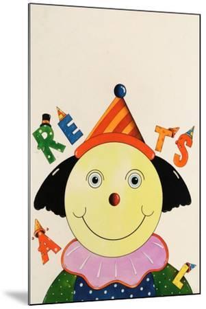 Party Clown-Christian Kaempf-Mounted Giclee Print