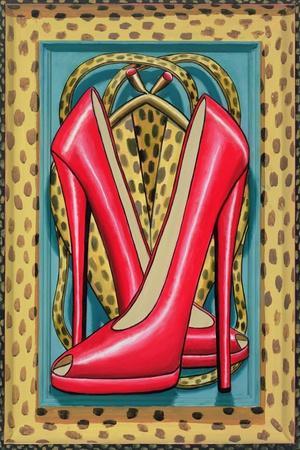 Higher Heels, 2010-PJ Crook-Stretched Canvas Print