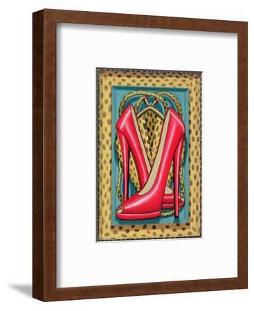 Higher Heels, 2010-PJ Crook-Framed Giclee Print