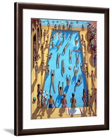THE SWIMMING POOL, 2012,-PJ Crook-Framed Giclee Print
