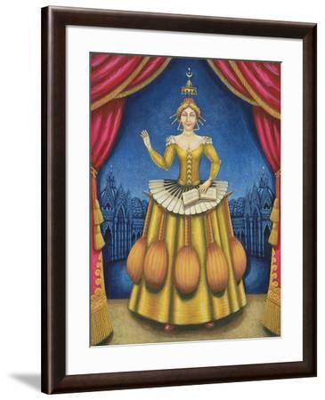 The Musician's Wife, 2002-Frances Broomfield-Framed Giclee Print