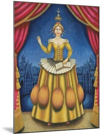 The Musician's Wife, 2002-Frances Broomfield-Mounted Giclee Print
