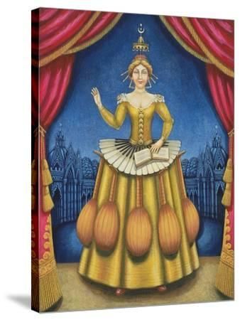 The Musician's Wife, 2002-Frances Broomfield-Stretched Canvas Print