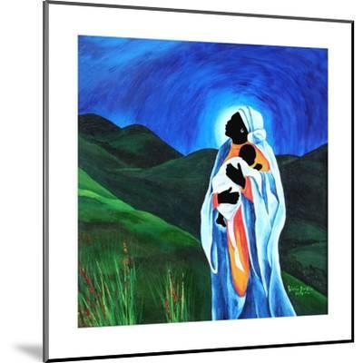 Madonna and child - Hope for the world, 2008-Patricia Brintle-Mounted Giclee Print