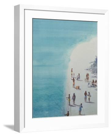 Bird's-Eye Beach, 2000-Lincoln Seligman-Framed Giclee Print
