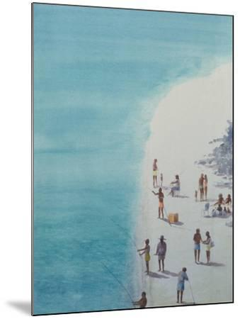 Bird's-Eye Beach, 2000-Lincoln Seligman-Mounted Giclee Print