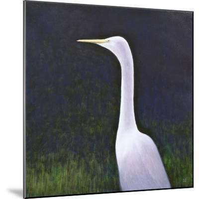 White Egret-Lincoln Seligman-Mounted Giclee Print