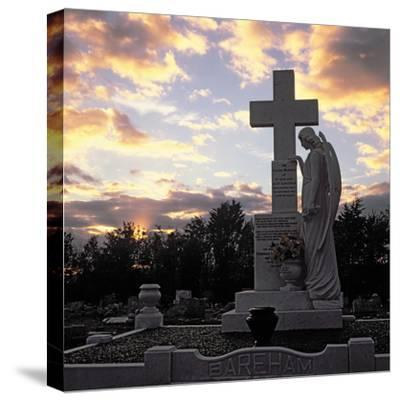 Basildon Cemetery--Stretched Canvas Print