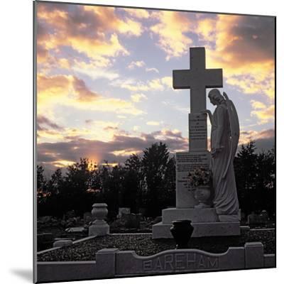 Basildon Cemetery--Mounted Photographic Print