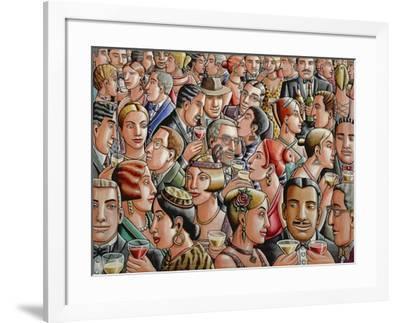Party, 2007-PJ Crook-Framed Giclee Print