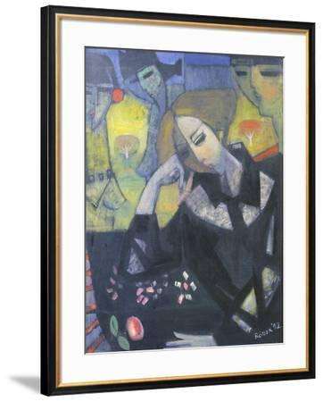 Amy in the Studio, 1992-Endre Roder-Framed Giclee Print
