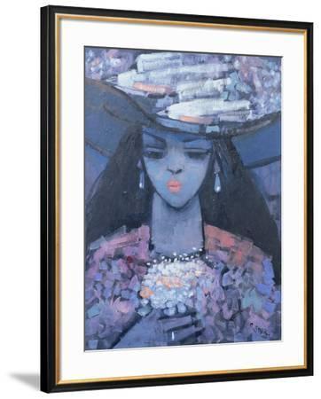 Edwina's Hat, 1991-Endre Roder-Framed Giclee Print
