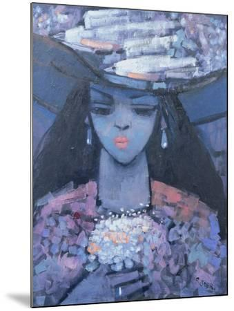 Edwina's Hat, 1991-Endre Roder-Mounted Giclee Print