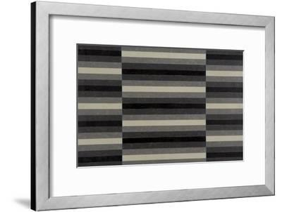 Striped Triptych No.4, 2003-Peter McClure-Framed Giclee Print