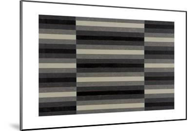 Striped Triptych No.4, 2003-Peter McClure-Mounted Giclee Print