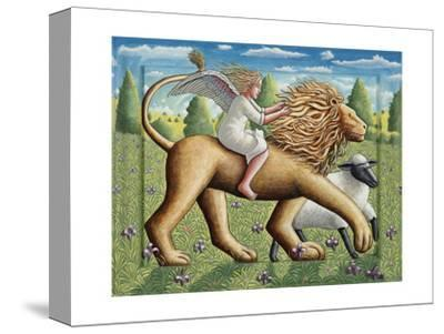 The Lion, the Lamb and the Angel, 2007-PJ Crook-Stretched Canvas Print