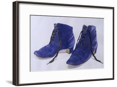 Blue Shoes, 1997-Alan Byrne-Framed Giclee Print