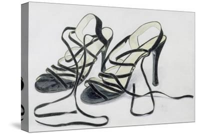 Black Strappy Shoes, 1997-Alan Byrne-Stretched Canvas Print