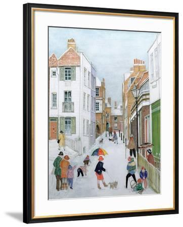 The Mount, Hampstead, 1990-Gillian Lawson-Framed Giclee Print