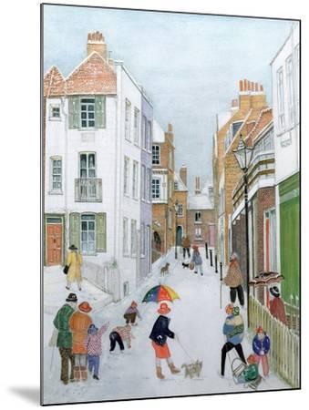 The Mount, Hampstead, 1990-Gillian Lawson-Mounted Giclee Print