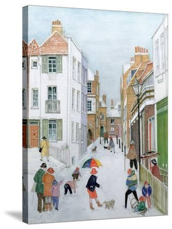 The Mount, Hampstead, 1990-Gillian Lawson-Stretched Canvas Print