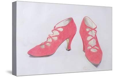 Pink Shoes, 1997-Alan Byrne-Stretched Canvas Print