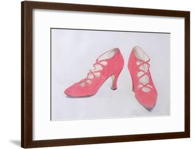 Pink Shoes, 1997-Alan Byrne-Framed Giclee Print