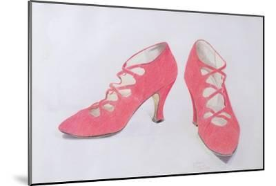Pink Shoes, 1997-Alan Byrne-Mounted Giclee Print