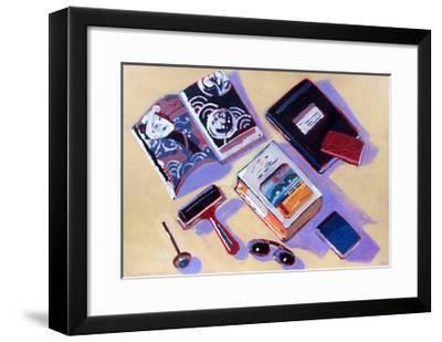 Roller and Sunglasses-Sara Hayward-Framed Giclee Print