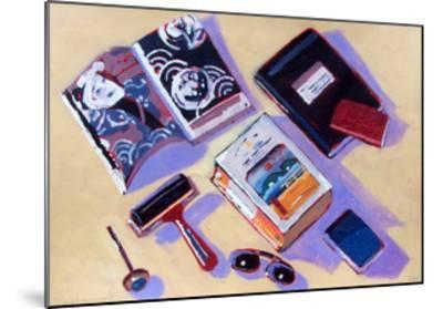 Roller and Sunglasses-Sara Hayward-Mounted Giclee Print