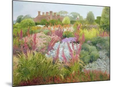 Spires of Kniphofia and Great Dixter-Timothy Easton-Mounted Giclee Print