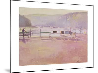 Day Break, Fowey, 1991-Timothy Easton-Mounted Giclee Print