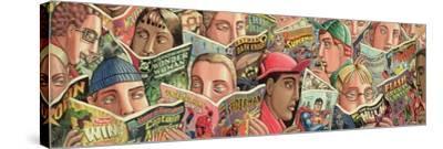 Comic Strip-PJ Crook-Stretched Canvas Print