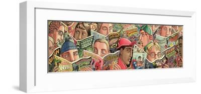Comic Strip-PJ Crook-Framed Giclee Print