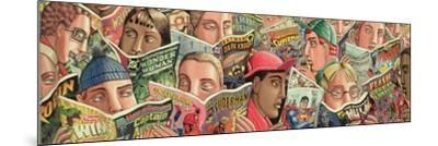 Comic Strip-PJ Crook-Mounted Giclee Print