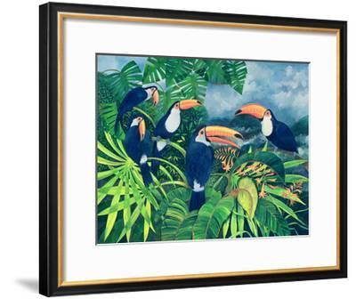 Toucan Talk-Lisa Graa Jensen-Framed Giclee Print
