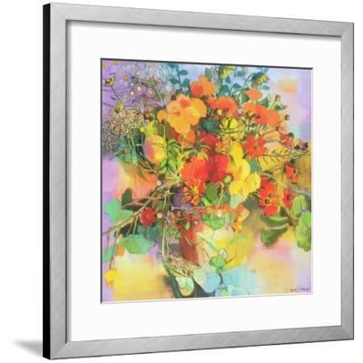 Autumn Flowers-Claire Spencer-Framed Giclee Print