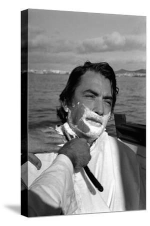 """John Huston's film """" Moby Dick"""",1954.-Erich Lessing-Stretched Canvas Print"""