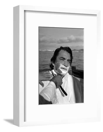 "John Huston's film "" Moby Dick"",1954.-Erich Lessing-Framed Photographic Print"